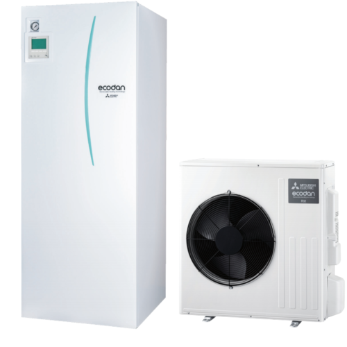 luft til vand varmepumpe Mitsubishi – Ecodan SUZ-SWM60VA All in One